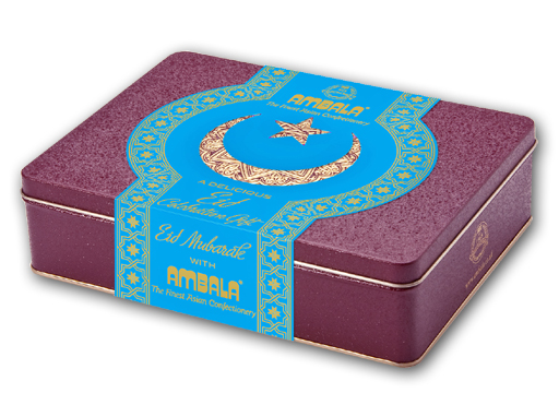 Personalised Eid 550g Gift Tin(10pcs)