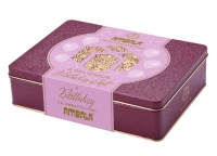 Personalised Her Birthday 550g Gift Tin