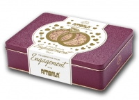 Personalised Engagement 550g Gift Tin