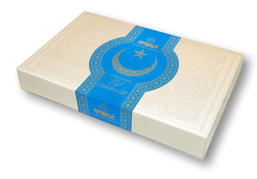 Personalised Eid Single Layer 1kg Gift box(20pcs)