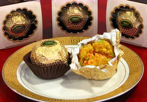 Gold Wrapped Special Ladoo