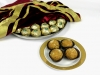 Gold Wrapped Urad Ladoo Platter